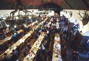 Salzburg gave KTM's North American dealers plenty of food and libation offerings.
